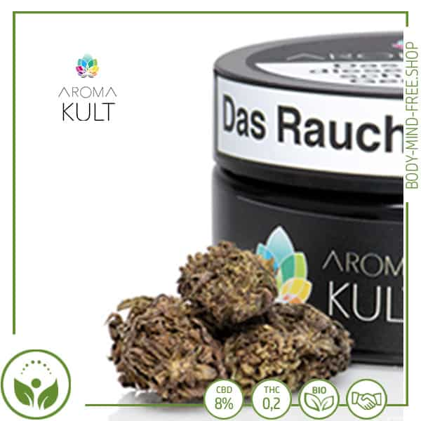 CBD Blüten Berg Krut 8% CBD Aromakult