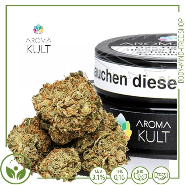 CBD Blüten Eisbärli CBD 4% Aromakult gr