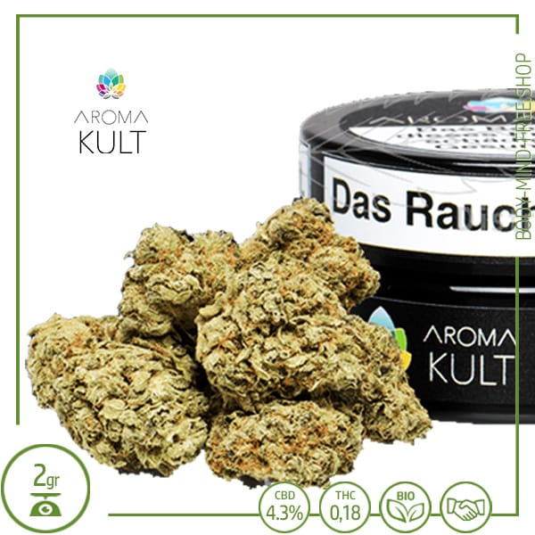 CBD Blüten Lennon Haze CBD 4% Aromakult gr