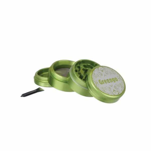 Greengo Grinder 40mm 4teilig grün