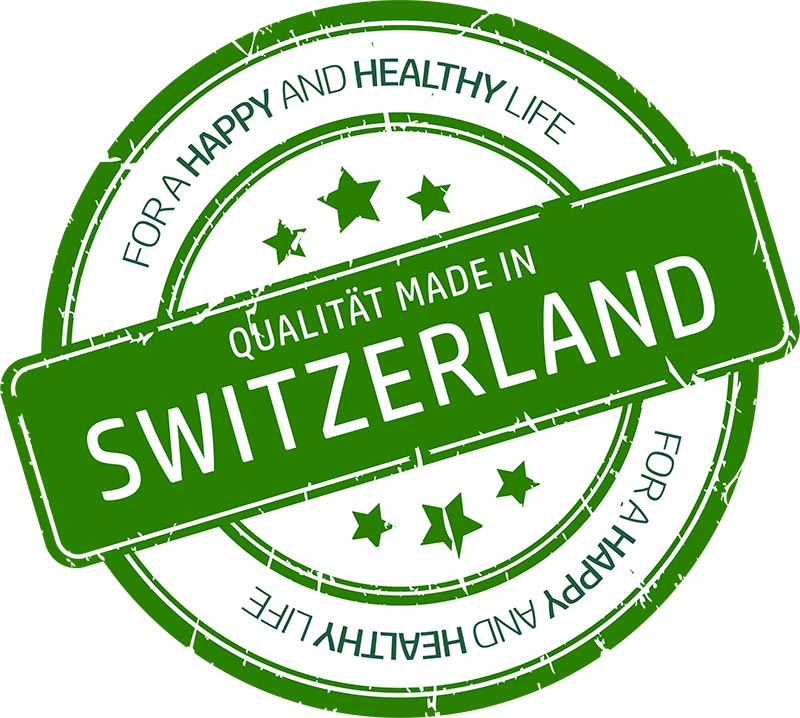 Qualität made in Switzerland Formula Swiss