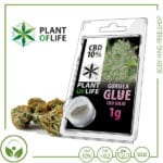 CBD Pollen (Hash) solid Plant of Life 10% CBD Gorilla Glue