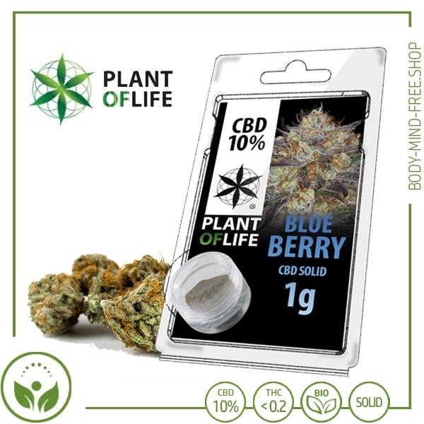 CBD Pollen (Hash) solid Plant of Life 10% CBD