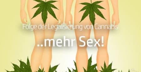 Mehr Sex mit Cannabis