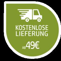 Kostenlose Lieferung ab 49€ nach DE & AT