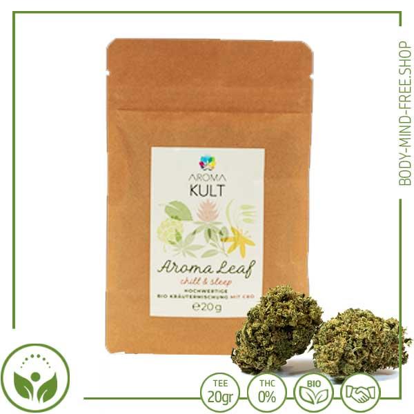 CBD Bio Kräuter Tee mit Blüten 20gr
