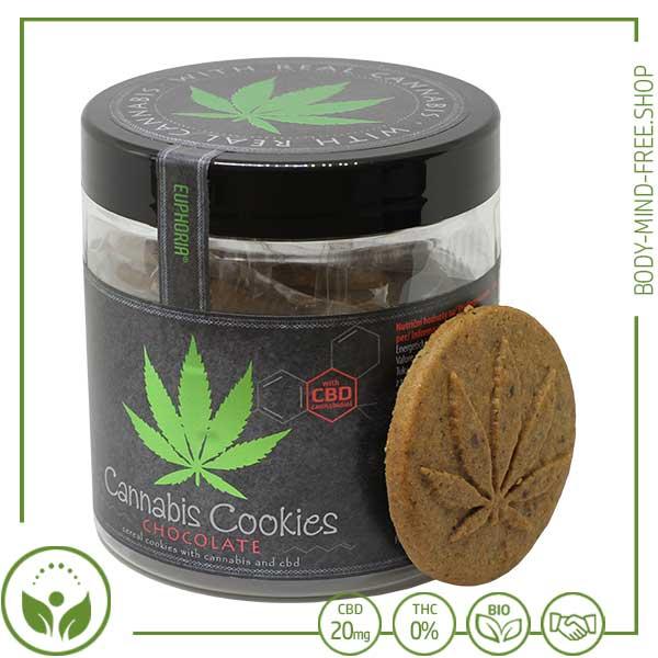 CBD Cannabis Schokoladenkeks