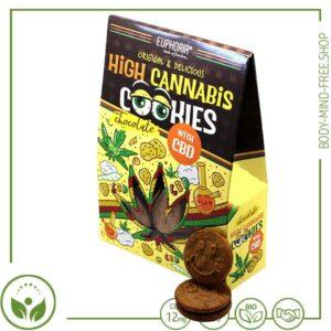 CBD Cannabis Schokokekse von Euphoria