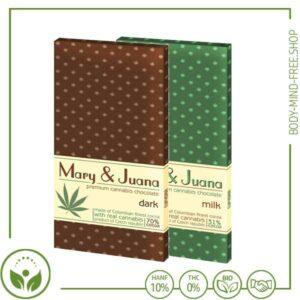 Euphoria Cannabis Schokolade Mary & Juana