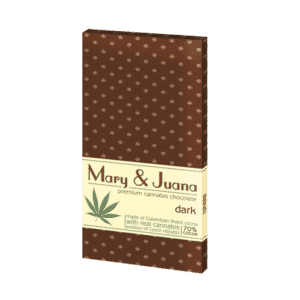 Euphoria dunkle Cannabis Schokolade