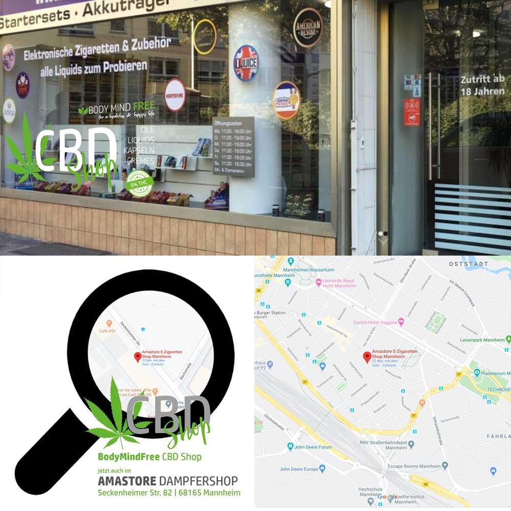 BodyMindFree CBD Shop Mannheim im Amastore