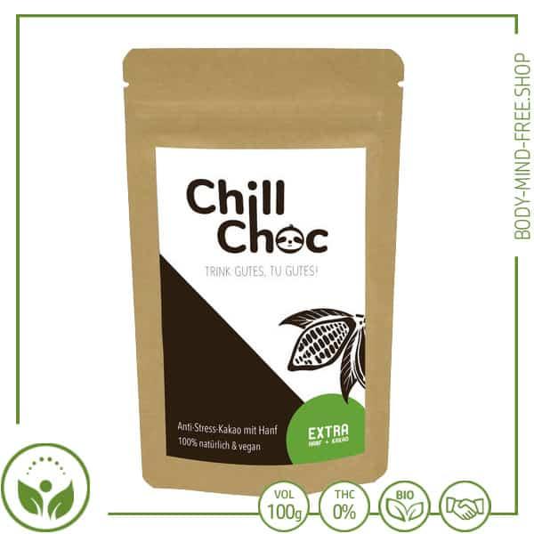 ChillChoc Original Anti Stress Kakao mit Hanf