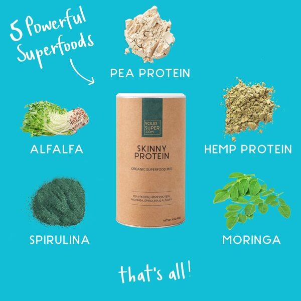 Skinny Protein von Your Superfood - zum abnehmen illu 2
