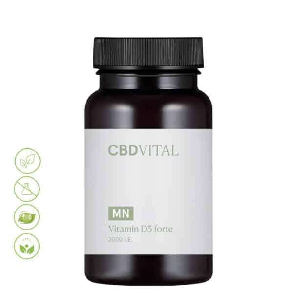 CBD Vital Vitamin D3 forte MN von Vitrasan
