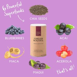 Forever Beautiful von Your Superfood - Anti-Aging - Inhaltsstoffe