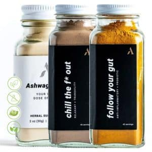 Licence to chill Nachrungsergänzungsmittel Superfood Set Apothekary - drei Superfoods