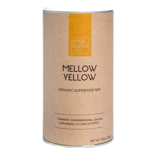 Mellow Yellow - von Your Superfood - gegen Angst & Entzündungen