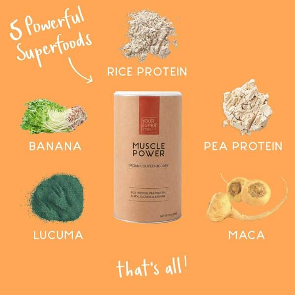 Muscle Power von Your Superfood - Inhaltsstoffe