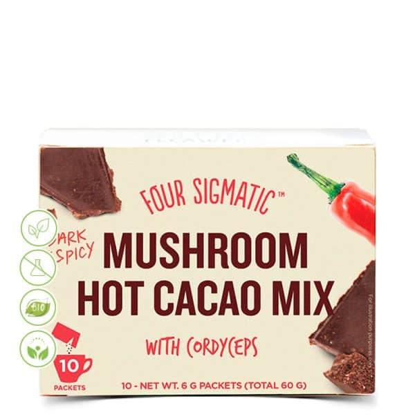 Mushroom hot kakao mix mit Cordyceps von Four Sigmatic