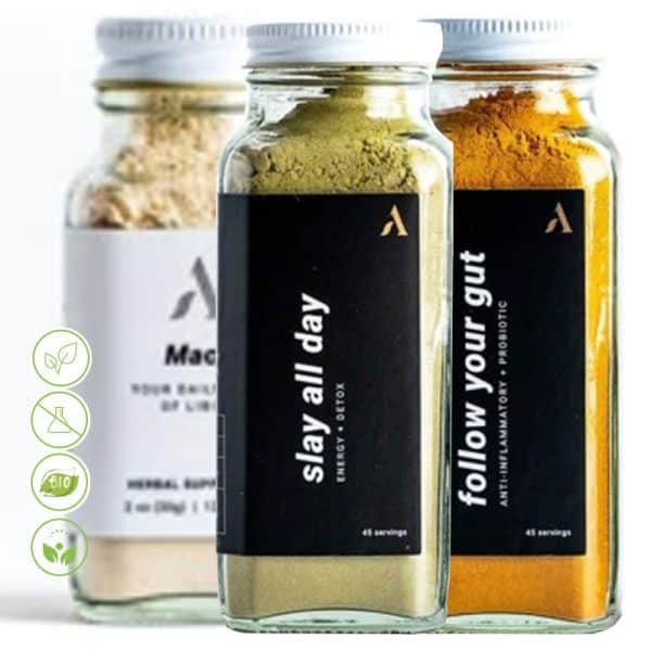 You gut this Nachrungsergänzungsmittel Superfood Set Apothekary - drei Superfoods