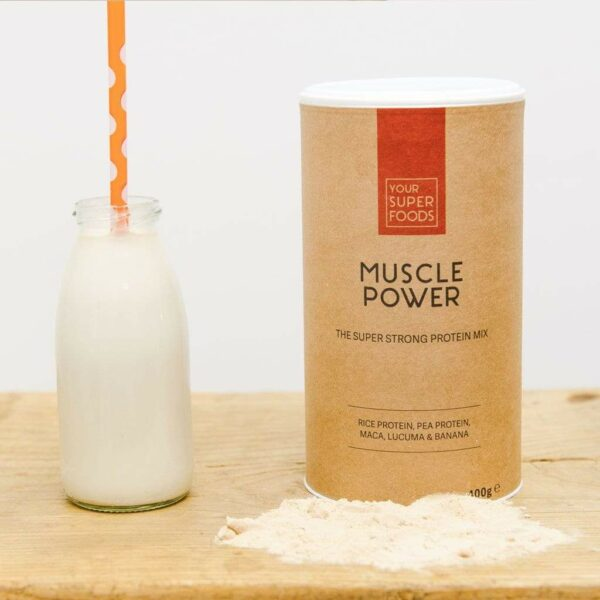 Muscle Power von Your Superfood - Sport Protein - Illus
