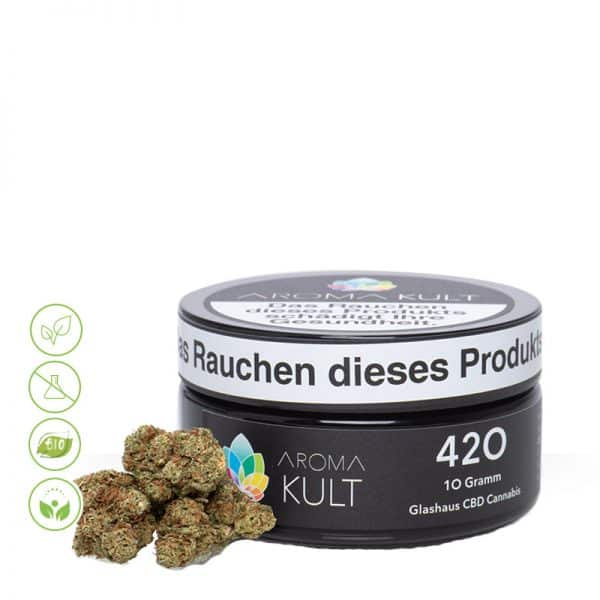 CBD Cannabis Blüten 420 von Aromakult