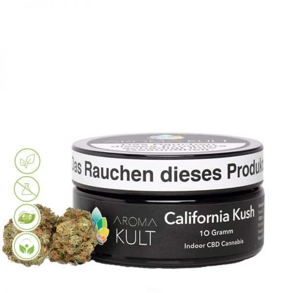 CBD Cannabis Blüten California Kush von Aromakult