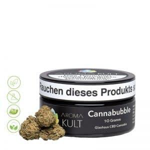 CBD Cannabis Blüten Cannabubble von Aromakult