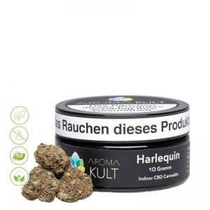 CBD Cannabis Blüten Harlequin von Aromakult