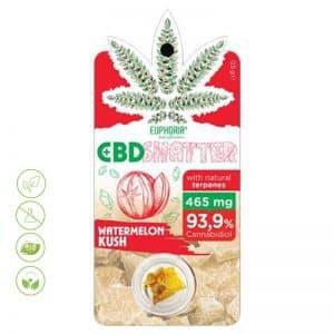 CBD Shatter Watermelon Kush 93,9% CBD von Euphoria