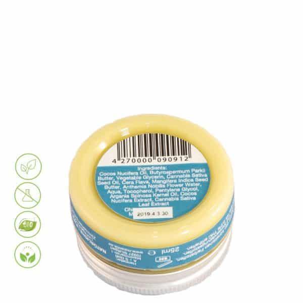 CBD Creme CBD Skin Balm Cocos von Malantis - Inhaltsstoffe 25ml