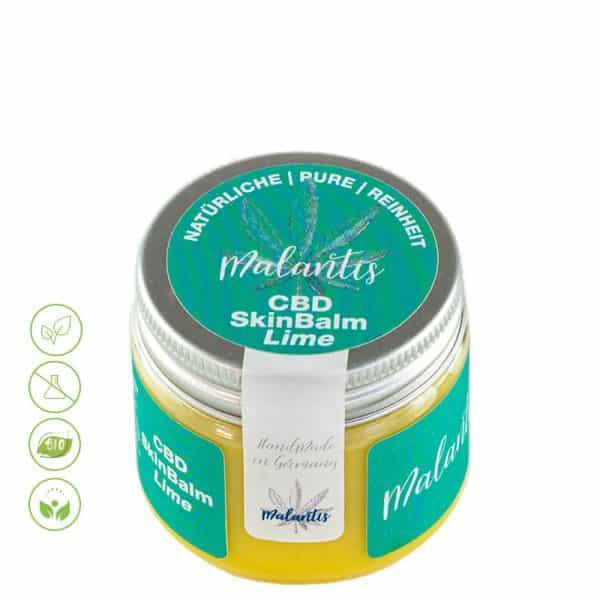 CBD Creme CBD Skin Balm Lime von Malantis 100ml