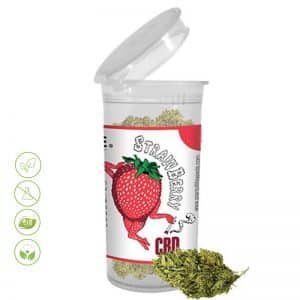 CBD Blüten Strawberry von Planet of Life