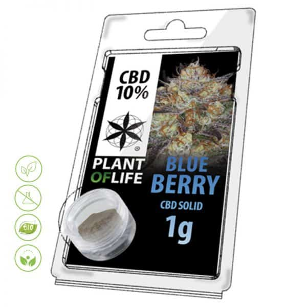 CBD Blüten Solid Blueberry von Planet of Life