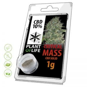 CBD Blüten Solid Critical Mass von Planet of Life