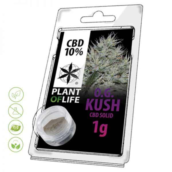 CBD Blüten Solid O.G. Kush von Planet of Life