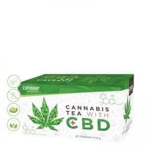 CBD Cannabis Tee von Euphoria