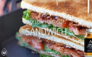 Superfood Rezepte: Follow Your Gut Sandwisch