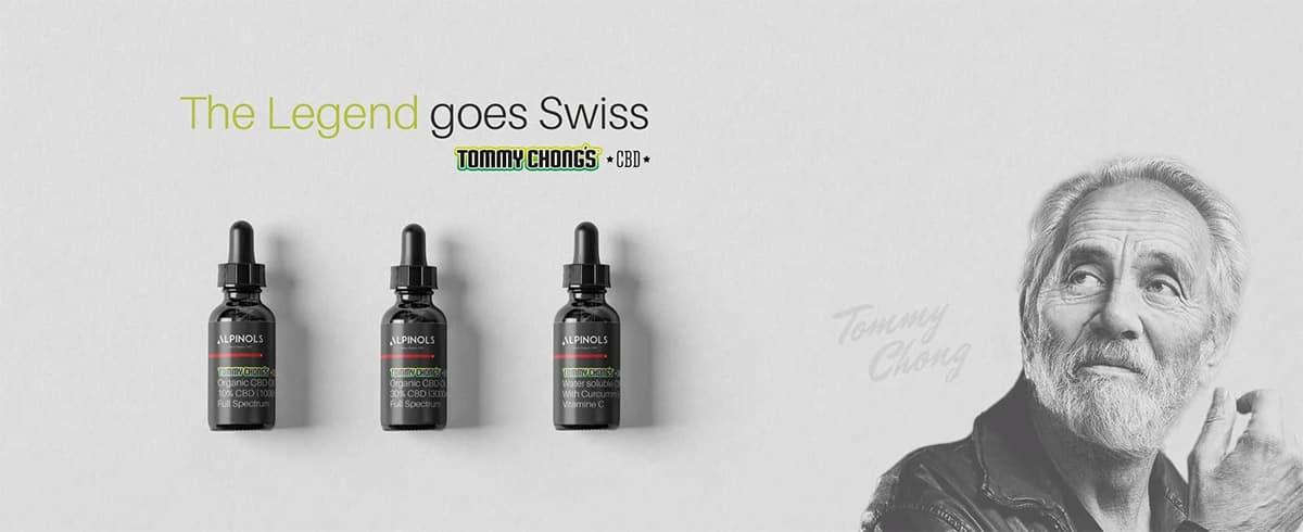 Tommy Chong CBD Signature Serie Alpinols CBD Öl