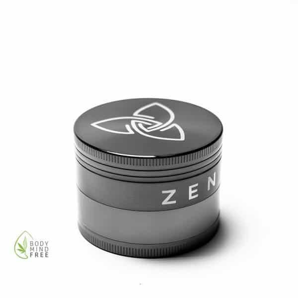 Zen-Vape Grinder 49mm gunmetal Silber 2