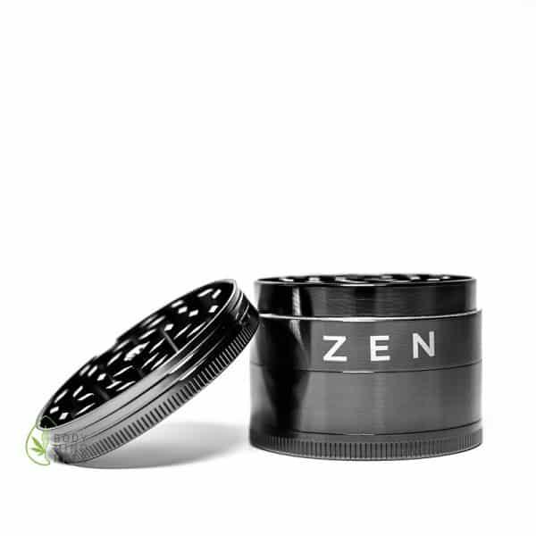 Zen-Vape Grinder 49mm gunmetal Silber 3