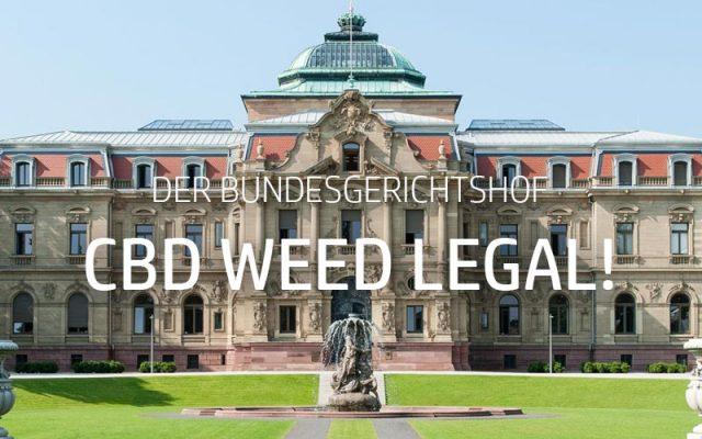 BGH Urteil: CBD Blüten legal