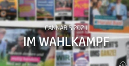 Cannabis im Wahlkampf 2021