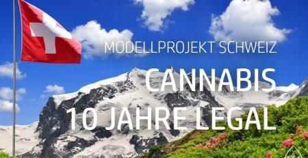 Modellprojekt in der Schweiz Cannabis legal
