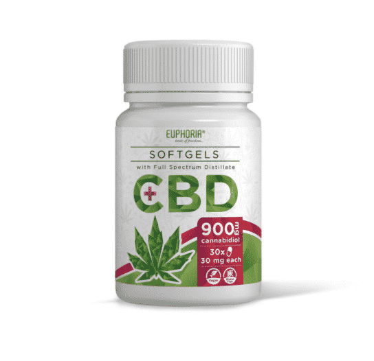 CBD SOftgels Euphoria 30mg/CBD