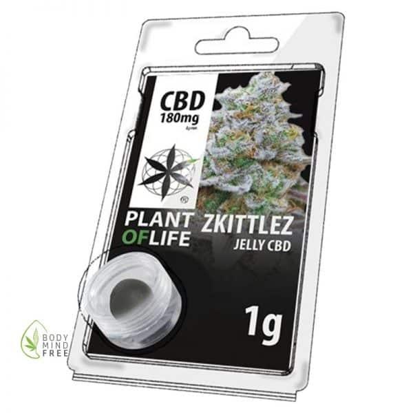 Zkittlez CBD Hash Jelly 18% Plant of Life