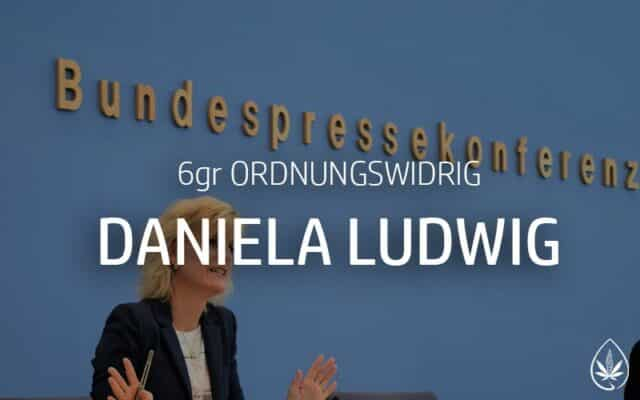 Daniela Ludwig geringe Menge Cannabis Ordnungswidrigkeit